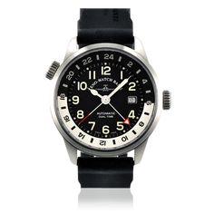 #ZenoWatchBasel  Zeno Watch Basel - Fellow GMT Automatic 44mm