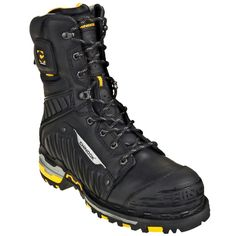 Chinook Men's Waterproof Scorpion II 9836 001 Steel Toe Work Boots can do just that. Their waterproof protection makes sure your feet and socks Two Boots, Combat Boots, Men Hiking, Hiking Boots, Steel Toe Work Boots, Custom Shoes, Mens Clothing Styles, Shoe Collection, Leather Boots