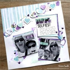 Visit our blog for a variety of different 12X12 scrapbook layouts designed by Noreen Smith featuring the Secret Garden collection by Creative Memories.
