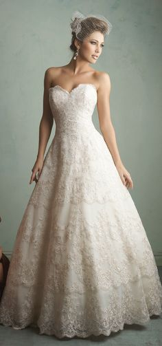 k i donno.. its a tie between this one and the last one. Allure Bridals Fall 2014 | bellethemagazine.com