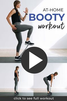 The best glute activation exercises to warm up and prep your booty for your next leg day workout! Activating your glute muscles is crucial if you want to grow your booty at home. We have so many big, powerful muscles in the lower body, sometimes the glutes can be overpowered! Leg Workout With Bands, Workout Warm Up, Hip Workout, Leg Day Workouts, Floor Workouts, Quads And Hamstrings, Glutes, Glute Medius, Glute Activation Exercises
