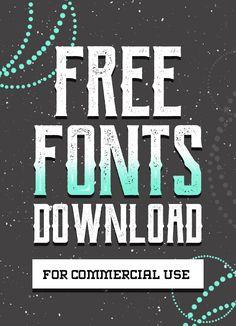Fresh Free Fonts for Designers (17 fonts)