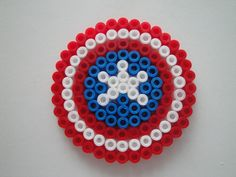 ... Captain America Shield Hama Sp by rinoaff10