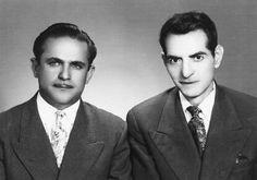 جوانی شهریار و فریدون مشیری