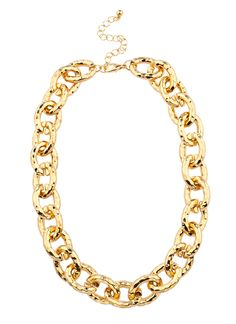 Shop Prima Donna - Alta Moda Metallic Collar Gold at Prima donna #SPDwishlist