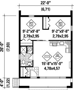 Contemporary Getaway Home Plan - 80675PM | Architectural Designs - House Plans