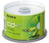 #Informatica #2: Sony CD-R 700MB CD-R80 CD-Q80N - Confezione da 50