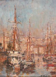 Voiliers dans le Port de Marseille Verkaufsresultate von Horace Richebe auf artnet