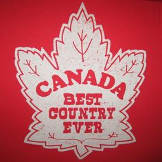 womens best country ever canada funny canadian mapleleaf new vintage red t shirt #AmericanApparel #GraphicTee
