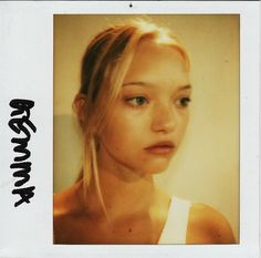 gemma ward An Awesome Wave, Model Polaroids, Gemma Ward, Beautiful People, Poses, Drop Earrings, Female, Hair, Pictures