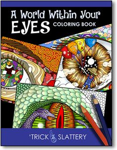 898 A World Within Your Eyes Coloring Book