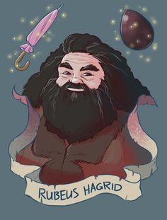 Hagrid is the best teacher in Hogwarts. Harry Potter Tumblr, Harry Potter Anime, Harry Potter Fan Art, Harry Potter World, Memes Do Harry Potter, Fans D'harry Potter, Mundo Harry Potter, Harry Potter Drawings, Harry Potter Pictures