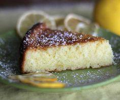 Meyer Lemon Olive Oil Cake - this olive oil cake originated in Italy and I use Meyer lemons for their intense lemon flavor