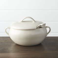 Soup Tureen with Ladle - Crate and Barrel