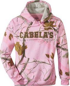 cabelas pink hoodie