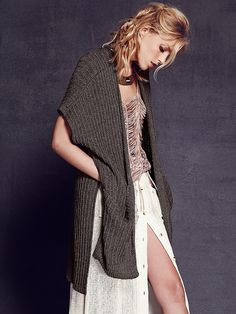 Free People Sloppy Pocket Cardigan at Free People Clothing Boutique