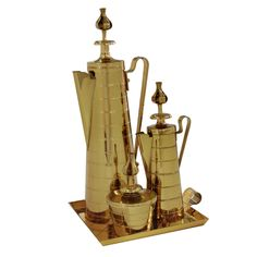 1stdibs - Elegant Brass Coffee Service by Tommi Parzinger explore items from 1,700  global dealers at 1stdibs.com