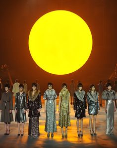 Moonlight sparkle.  Marc Jacobs collection    Marc Jacobs collection was stunning, one of the best in a long time, glamorous and dramatic!