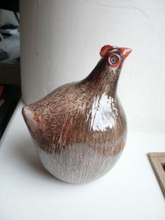 Hens, Vase, Ceramics, Home Decor, Ceramica, Pottery, Decoration Home, Room Decor, Ceramic Art