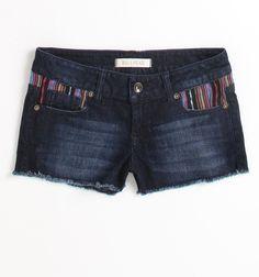 #BullheadBlack tribal Inset Shorts, #PacSun
