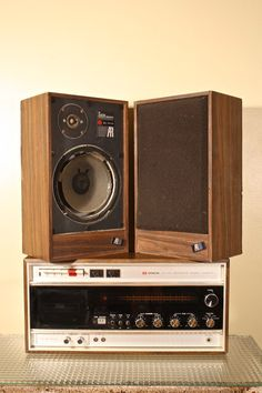 oh yea baby.  vintage 1970's stereo system and cassette