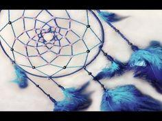 Cómo hacer un atrapasueños, fácil, paso a paso | How to make a dreamcatcher - YouTube