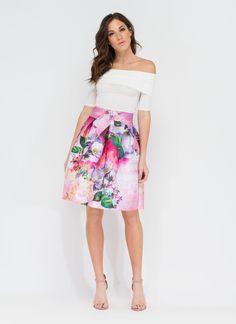 Garden Society Flared Skirt