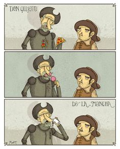 Don Quijote de la Mancha... XD