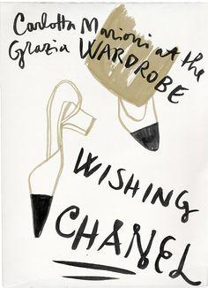 MALE: #graziaitaly#chanel#wishinglist#luxury#gu...