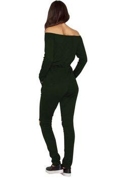 9b5d6cb0dacf Frisky Essentials Split Knee Green Long Pant Jumpsuit Pant Jumpsuit