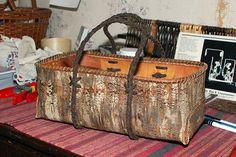 cherry bark basket | Katherine made this cherry bark basket … | Flickr