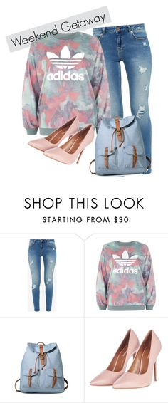 """""""Sans titre #46"""" by minii92 on Polyvore featuring mode, Ted Baker, adidas et Topshop"""