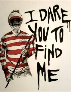 Don't look for Waldo....