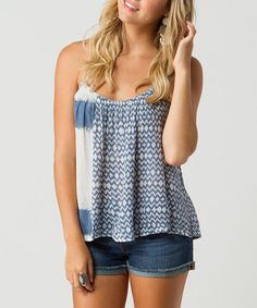 Take a look at this Indigo Dreamin' Tank by O'Neill on #zulily today!
