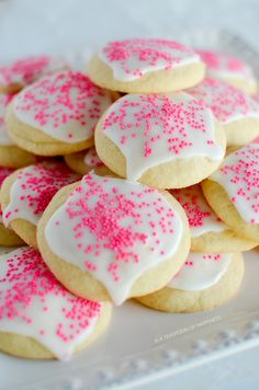 Super Soft Sugar Cookies | A Teaspoon of Happiness