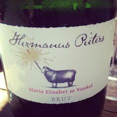 Hermanuspietersfontein - Maria Elisabet se Vonkel. MCC.  Only available at our weekly food and wine market.
