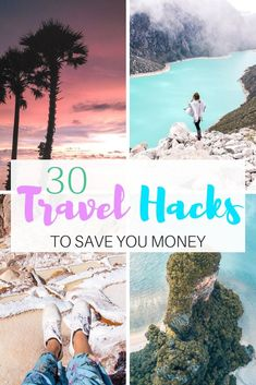 Into travelling? But, worried that you don't have enough money to travel? Well, travel life can be hard and expensive. Have you wondered how can you easily save money while travelling, plus make your travel life more fun? If so, read our 30 travel hacks and learn from our experiences. We use them every single day!  #travellife#travellifehacks#travelhacks#freetravelhacks#traveladvice#traveladvicetips#traveladvicearticles#traveltips#travel#traveldestinations