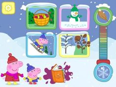 Peppa's Seasons: Autumn and Winter is a wonderful new children's app that lets kids explore the changing of the seasons from autumn to winter in four fun and interactive games. Click the image for our full review.