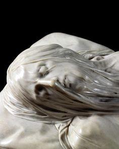 Giuseppe Sanmartino - Cristo Velato (Veiled Christ)    Cappella Sansevero, Naples: