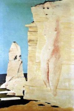 Sima, Josef - La Mer - Surrealism - Landscape - Oil on canvas Rene Magritte, Oil On Canvas, Joseph, Dreams, Landscape, Artist, Artwork, Surrealism, Work Of Art
