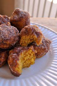 little bits: Pumpkin Poppers {recipe}