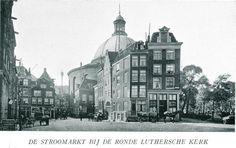 1920 Stroomarkt Stromarkt gezien in zuidelijke richting naar Kattengat en Ronde…