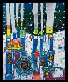 Wieland Schmied zur Malerei · Hundertwasser