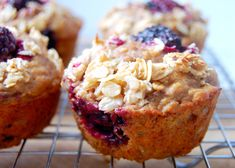 Greek Yogurt Marionberry Muffins with Honey Oat Streusel   Uproot from Oregon #ad