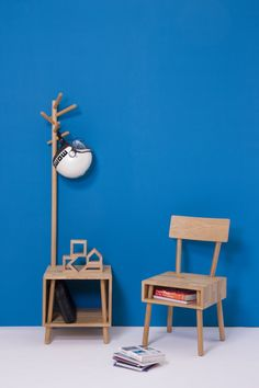 Coat stand and Chair-LivingBlock