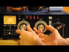 ▶ Ham Radio Tutorial - How To Use An Antenna Tuner - YouTube