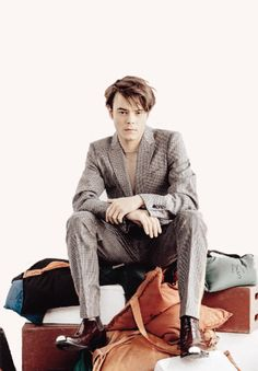 "dailystrangerthings: """"Charlie Heaton for DAMAN Mag. "" """