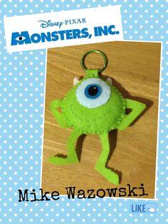 Monster inc keychain