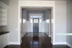 Sunny Side Up: Front Entry (full view from formal living room)