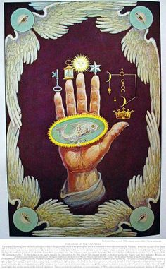 All Things Esoteric /Occult/Witchcraft and a Healthy Dose of Rock and Roll/Art Nouveau/Illustration/Vintage & Literary Erotica & Underground Countercultures + David Bowie is My Religion: I'm Just a Space Cadet. Wicca, Magick, Witchcraft, Symbol Hand, Esoteric Art, Arte Obscura, Occult Art, Occult Symbols, Masonic Symbols